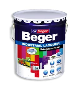 Beger Industrial Lacquer สีพ่นอุตสาหกรรม