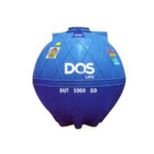 ถังเก็บน้ำใต้ดิน DOS EXTRA DUT 5000L ทรงnet-tech