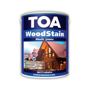 TOA WoodStainMatt ชนิดด้านสีย้อมไม้