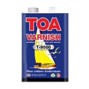 TOA VARNISH T-9500 สำหรับภายนอก ชนิดเงา