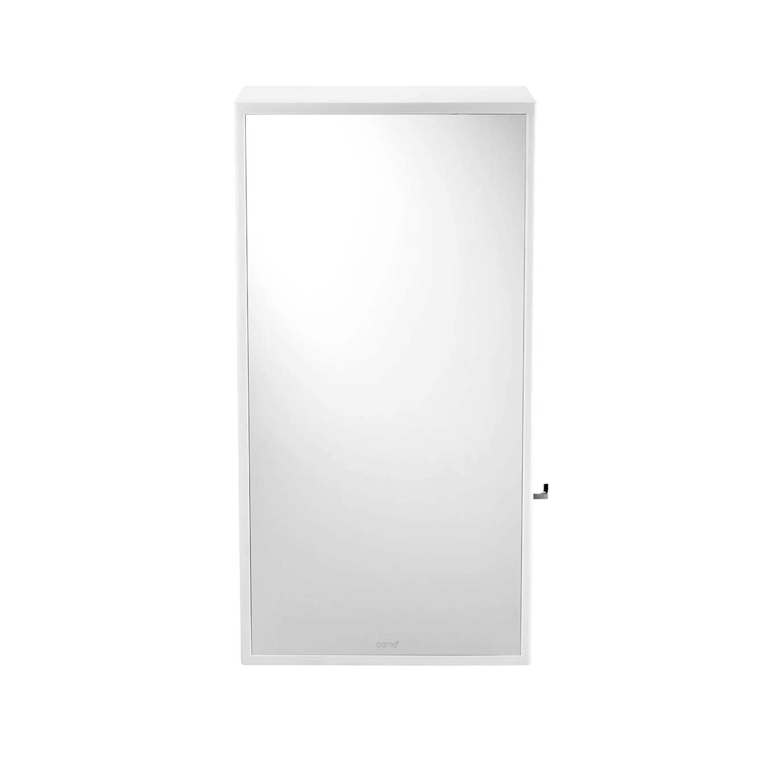 กระจกเงา มุม 10 องศา 540X1028 มม. สีเงิน