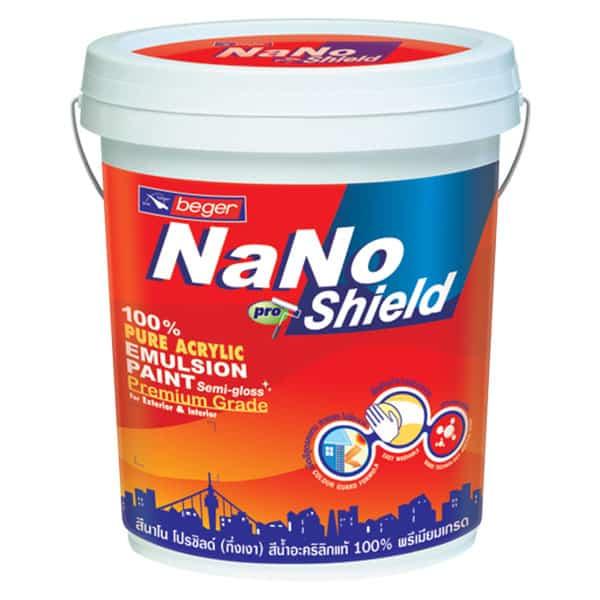 สีน้ำอะคริลิก นาโนโปรชิลด์ NANO PROSHIELD