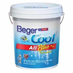 สีน้ำอะคริลิกกึ่งเงา Beger Cool All Plus