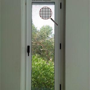 มุ้งลวดนิรภัย หน้าต่างบานเดี่ยว