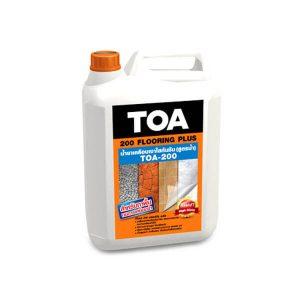 TOA 200 Flooring Plus สูตรน้ำ น้ำยาเคลือบเงาใสกันซึม