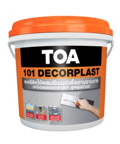 TOA 101 Decorplast ทีโอเอ 101 เดเคอร์พลาส ฉาบปรับผิวแบบบาง