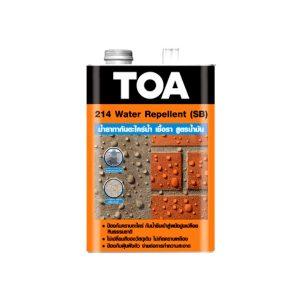 TOA 214 น้ำยากันตะไคร่สูตรน้ำมัน Water Repellent