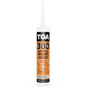 TOA 303 อะคริลิกอุดโป๊ว Acrylic Sealant