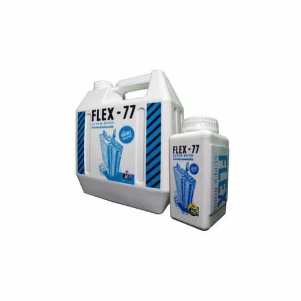 น้ำยาประสานคอนกรีต FLEX-77 ตราช่างใหญ่