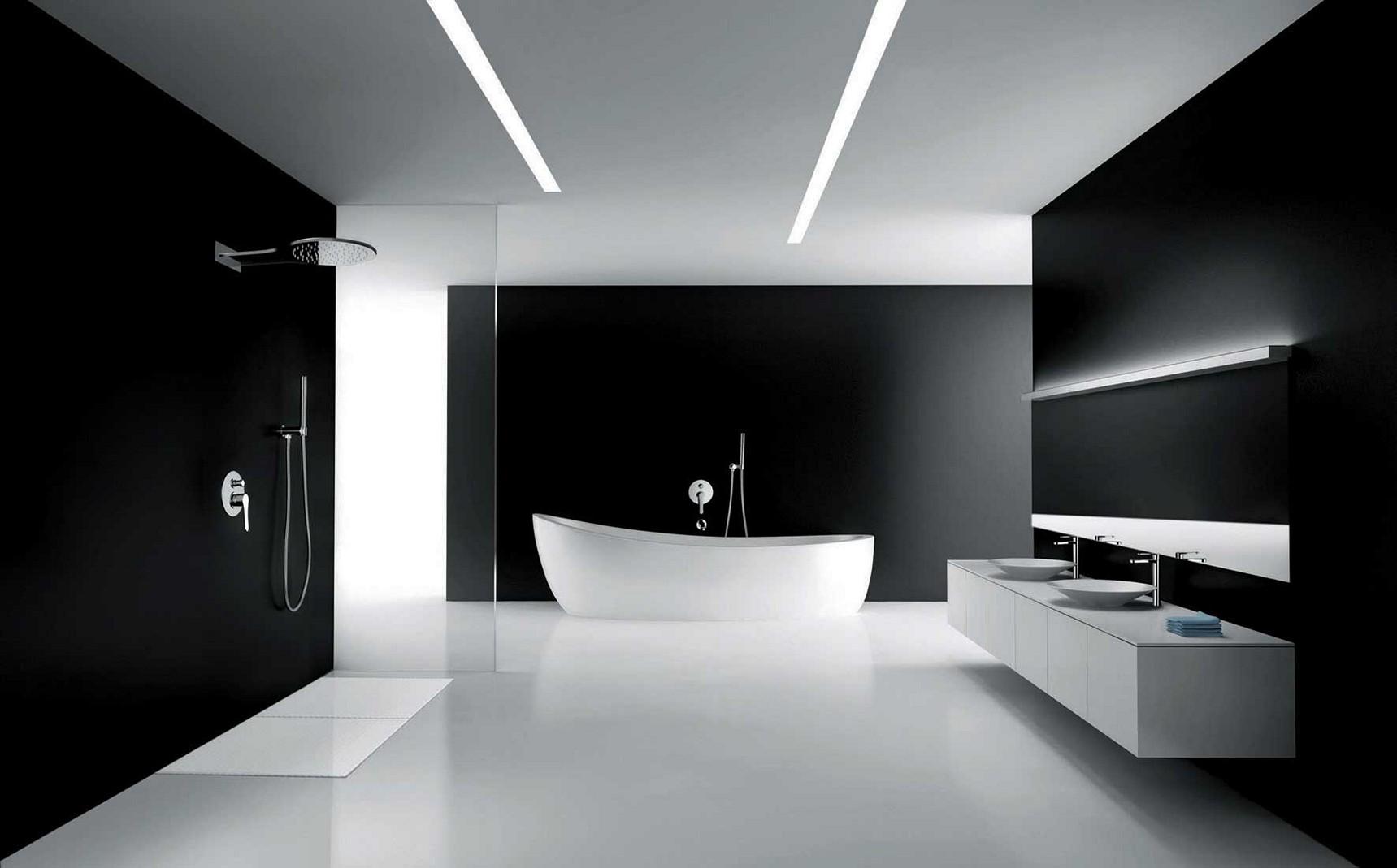 ห้องน้ำโทนสีขาว ดีไซน์เรียบง่ายบนความคลาสสิคที่หน้าหลงไหล
