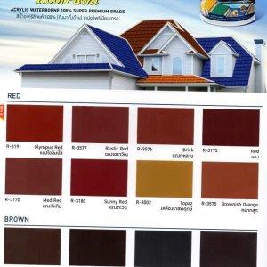 สีน้ำ Synotex Roof Paint Beger