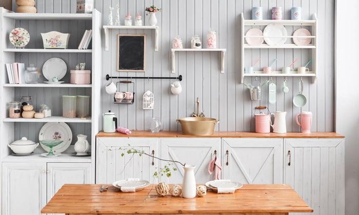 เลือกชั้นวางของในครัวแบบเปิด ช่วยให้ห้องครัวดูดีขึ้นได้ง่ายๆ