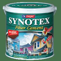 สีทาไม้ฝา เบเยอร์ Synotex Fiber Cement โปร่งแสง