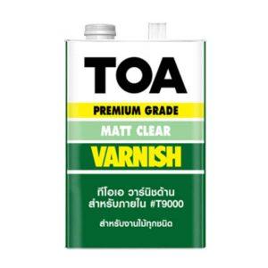 TOA VARNISH T-9000 สำหรับภายใน ชนิดด้าน