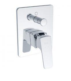 ก๊อกผสมอ่างอาบน้ำ รุ่น คอนเซ็ปต์ สแควร์ A-0421-400B