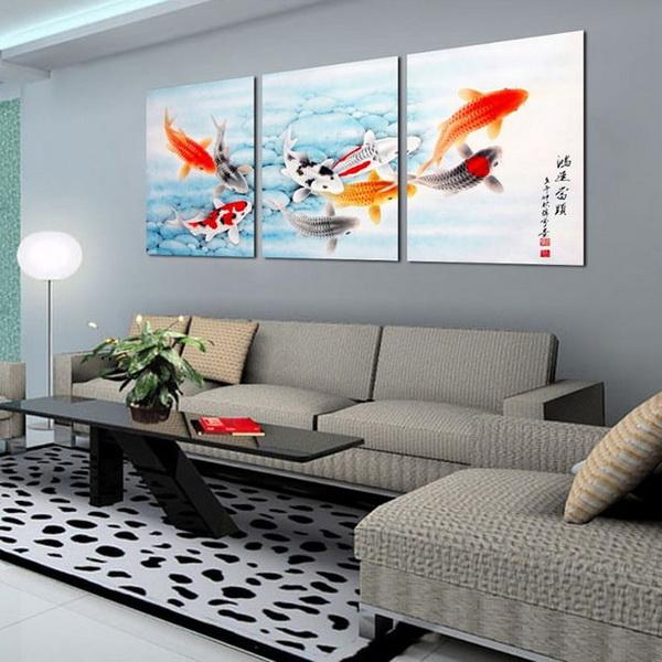 ภาพวาดเสริมฮวงจุยให้กับบ้านและสำนักงาน ช่วยให้เงินทองไหลมาเทมา
