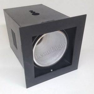 โคมไฟ DOWNLIGHT เดี่ยวแบบฝังฝ้า G-DL03 สีดำ