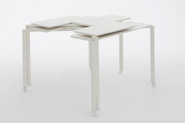 Table Tetris โต๊ะตัวต่อที่ช่วยให้การใช้งานภายในห้องราบรื่นขึ้น