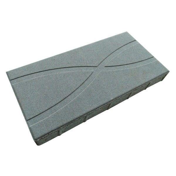 เอสซีจี บล็อกปูพื้น รุ่นศิลาเหลี่ยม ลายกราฟฟิค No.01