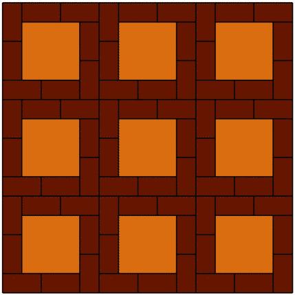 เอสซีจี บล็อกปูพื้น ศิลาเหลี่ยม - ลาย LL 39 สะดวกต่อการติดตั้ง ติดตั้งง่าย