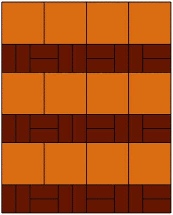 SCG บล็อกปูพื้น ศิลาเหลี่ยม - ลาย LL 40 ทนทาน แข็งแรง