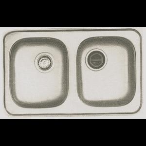 อ่างซิ้งค์ล้างจานสแตนเลส ตราเพชร DM 080 BC,BC/C