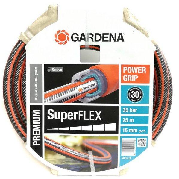 GARDENA สายยาง รุ่นSUPERFLEX 25เมตร-5/8นิ้ว