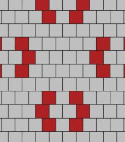 SCG บล็อกปูพื้น ศิลาเหลี่ยม - ลาย LL 37