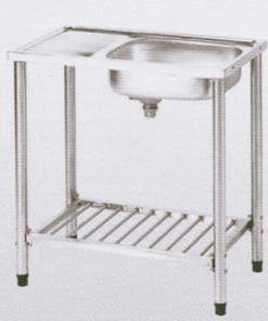 อ่างซิ้งค์ล้างจานสแตนเลสพร้อมขาตั้ง ตราเพชร รุ่น LSS 1072