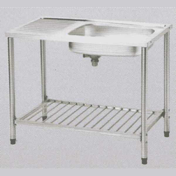 อ่างซิ้งค์ล้างจานสแตนเลสพร้อมขาตั้ง ตราเพชร รุ่น LSS 1096