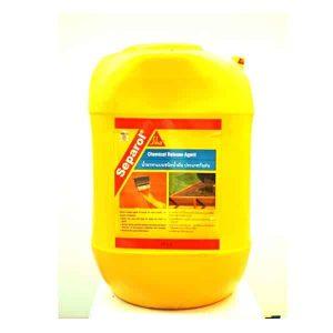SIKA SEPAROL น้ำยาทาแบบชนิดน้ำมัน ประเภทกันฝน 25ลิตร