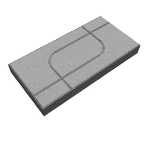SCG บล็อกปูพื้น รุ่นศิลาเหลี่ยม ลายกราฟฟิค No.03