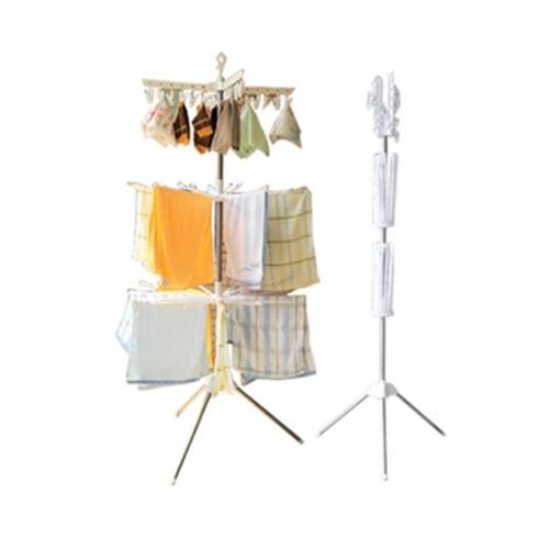 YSB CASSA Baby Clothes Hanger stainless ราวตากผ้าเด็กสแตนเลส3ชั้น สูง170cm กว้าง70cm รุ่น 14-Baby-CHS