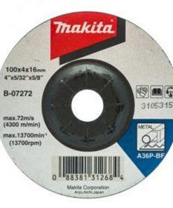 แผ่นเจียร์ 4นิ้วX4 มิล ดำB-07272 Makita