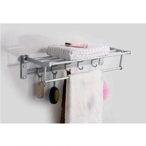 YSB CASSA ราวแขวนผ้า วางผ้า แขวนของใช้ในห้องน้ำอลูมีเนียมติดผนัง รุ่น 43-ALM-CL15