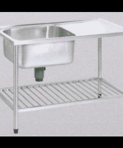 อ่างซิ้งค์ล้างจานพร้อมขาตั้งสแตนเลส ตราเพชร DMSES 1110 C
