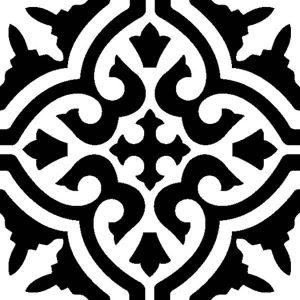 กระเบื้องลายโบราณ GA-001 Granito antique tile pattern 001