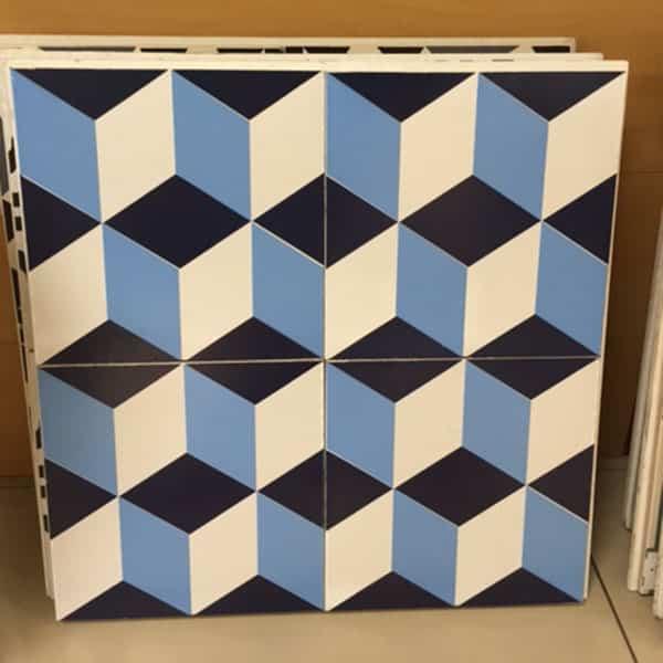 กระเบื้องลายโบราณ GA-037 Granito antique tile pattern 037