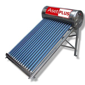 เครื่องทำน้ำร้อนพลังแสงอาทิตย์ ชนิดหลอดแก้ว200 ลิตร