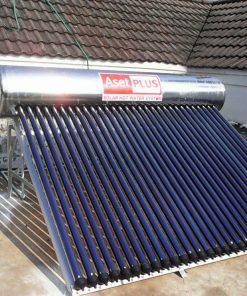 เครื่องทำน้ำร้อนพลังแสงอาทิตย์ ชนิดหลอดแก้ว 300 ลิตร