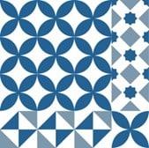 กระเบื้องลายโบราณ GA-Mixed001 Granito antique tile pattern Mixed001