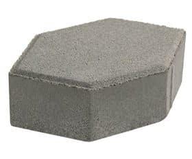 SCG บล็อกปูพื้น รุ่น จินตนาการ-ศิลาหกเหลี่ยม ขนาด11.5x19.2x6ซม.