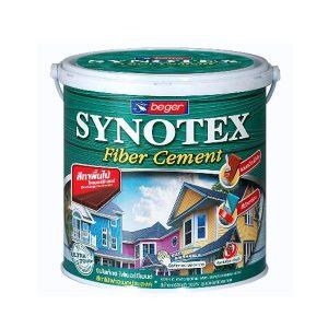สีทาไม้ฝา Synotex Fiber Cement ทึบแสง เบเยอร์