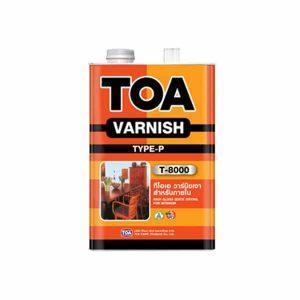 TOA VARNISH วานิช ชนิดเงา T-8000 สำหรับภายใน