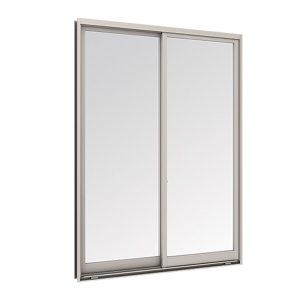 Tostem WE70 หน้าต่างบานเลื่อนคู่ ขนาด1145x1490 มม.