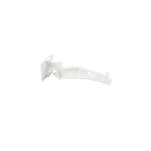 ตะขอแขวนรางไวนิล เอสซีจี รุ่น DELUXE สีขาว