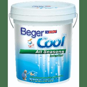 สีน้ำอะครีลิกภายใน Beger Cool All Seasons Ceiling เบเยอร์ คูล ออลซีซั่น