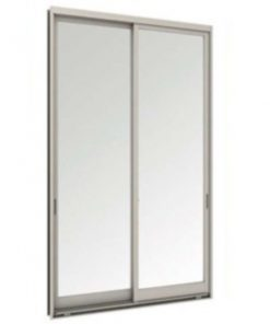 Tostem WE70 ประตูบานเลื่อนคู่ ขนาด1490x2080 มม.ไม่มีกุญแจ