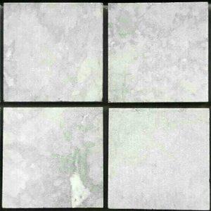 หินปูสระว่ายน้ำ Cloudy White หินคลาวดี้ไวท์ หน้าแซนด์ 10x10x1 ซม.