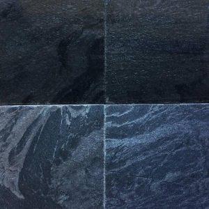 หินปูสระว่ายน้ำ ซิลเวอร์เกรย์ ขัดเรียบ Silver Grey Polished 10x10x1 ซม.